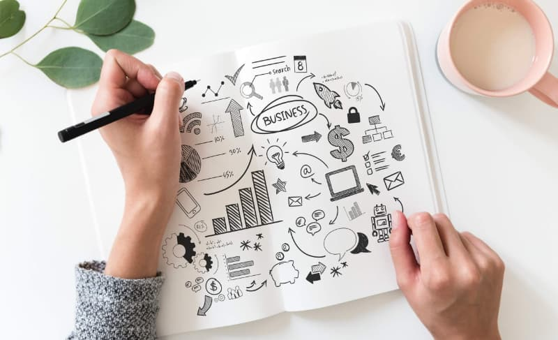 Una estrategia completa de marketing de contenidos incluye multiples acciones