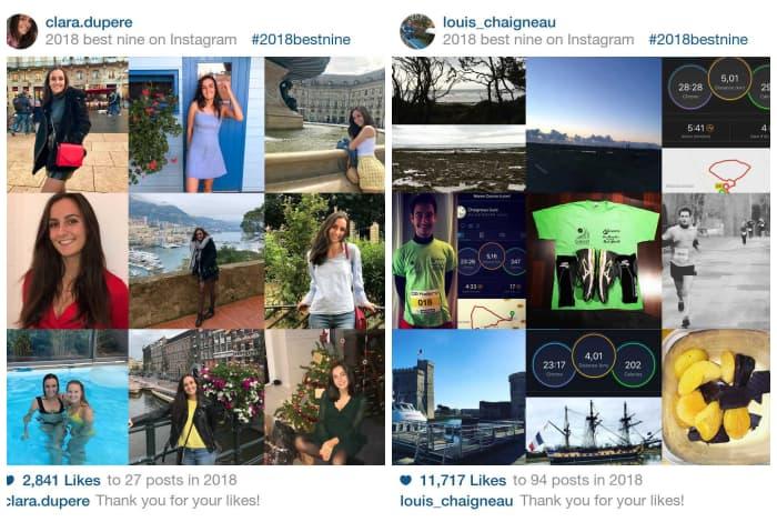 comment creer best nine instagram