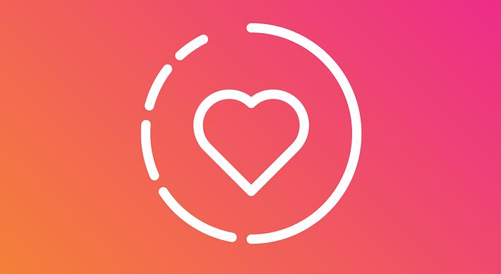 Logo des stories en attente pour être vues sur Instagram