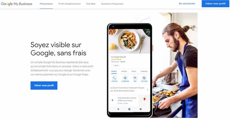 Comment créer et se connecter à son compte Google My business