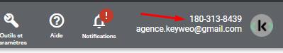 numero client compte google ads